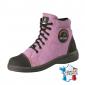 Chaussure securite professionnelle travail noire ISO EN 20345 S2 femme transport chantier logistique artisan - LILAS
