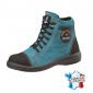 Chaussure securite professionnelle travail noire ISO EN 20345 S2 femme transport chantier logistique artisan - TURQUOISE