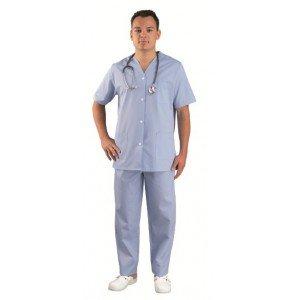 Tunique professionnelle travail manches courtes mixte - PROMO foyer infirmier ecole medical - CIEL