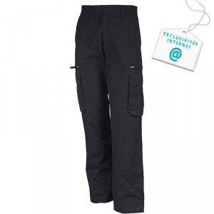 Pantalon travail professionnel homme - PROMO transport chantier logistique artisan - GRIS