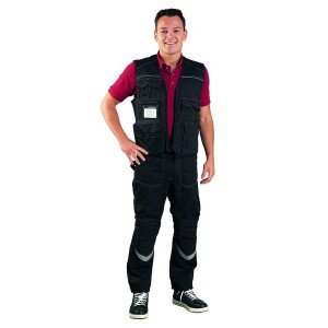 Pantalon travail professionnel homme - PROMO transport artisan manutention chantier - NOIR