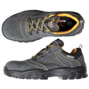 Chaussure securite professionnelle travail ISO EN 20345 S1P mixte artisan menage chantier entretien - GRIS