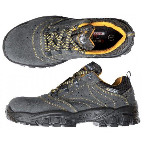 Chaussure securite S1P professionnelle travail ISO EN 20345 S1P mixte chantier menage artisan entretien - GRIS
