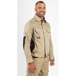 GRIS/NOIR - Blouson professionnelle de travail homme transport artisan logistique chantier