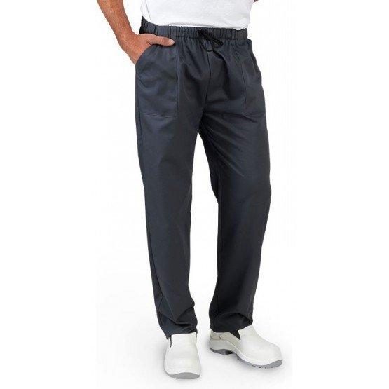 Pantalon professionnel travail mixte auxiliaire vie medical aide domicile infirmier - ARDOISE
