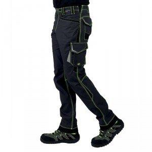 GRIS/NOIR - Pantalon de travail professionnelle homme artisan menage chantier entretien