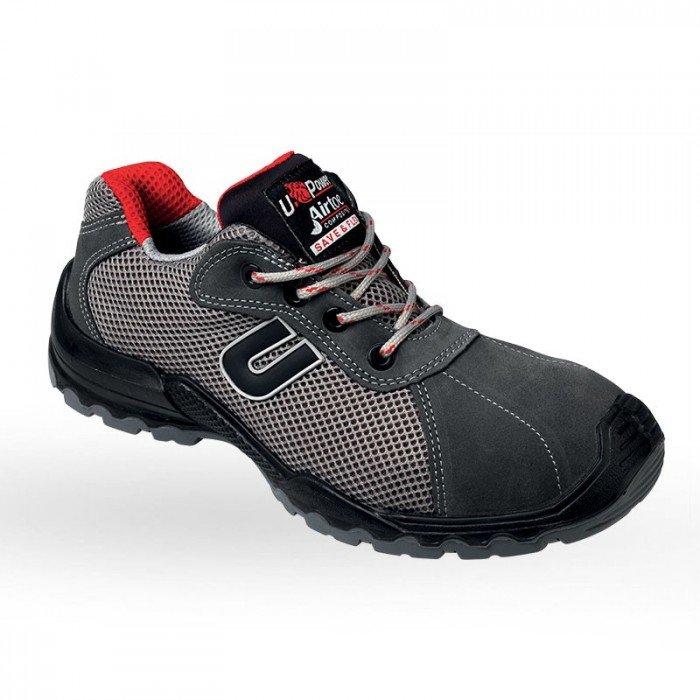 light chaussure de s curit en cuir velours et tissu respirant pour homme avec embout. Black Bedroom Furniture Sets. Home Design Ideas