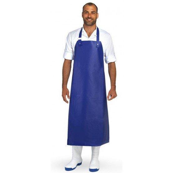BLEU - Tablier de protection en PVC de cuisine professionnel blanche en PVC homme restaurant boucher internat hôtel