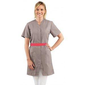blouse professionnelle de travail blanche manches courtes femme promo entretien auxiliaire. Black Bedroom Furniture Sets. Home Design Ideas