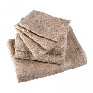 Lot de 6 serviettes de toilette April