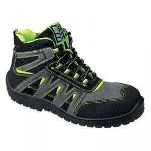 Chaussure securite professionnelle travail ISO EN 20345 S1P homme - PROMO menage artisan logistique foyer - FLUO