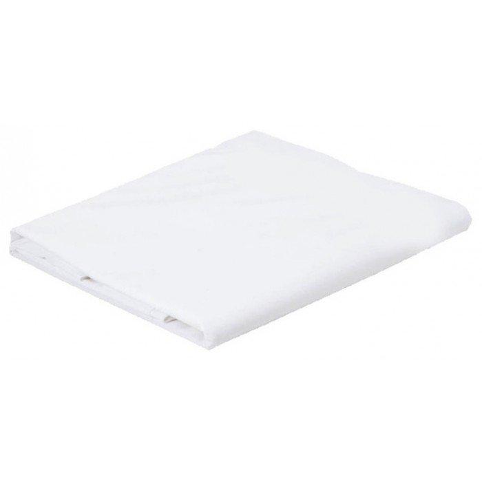 rio 1 personne drap plat en coton polyester 180 x 310 cm en 12952 parties 1 perle ciel. Black Bedroom Furniture Sets. Home Design Ideas
