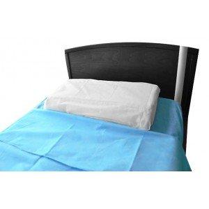 Taie traversin usage unique professionnelle travail SMS (Polypropylene) medical aide domicile creche infirmier - BLANC