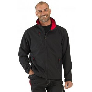 Veste professionnelle travail mixte manutention chantier transport artisan - NOIR