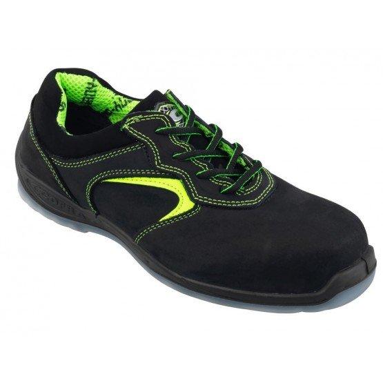 Chaussure securite S3 professionnelle travail ISO EN 20345 S3 homme chantier menage artisan entretien - FLUO