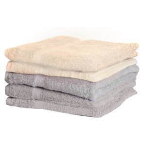 Lot de 3 serviettes de toilette 550g March