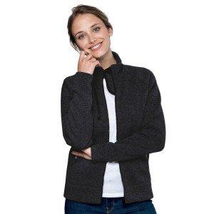 Veste chinee zippee professionnelle travail manches longues femme infirmier auxiliaire vie menage ecole - ARDOISE