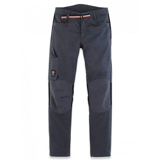 Pantalon travail professionnel femme transport chantier logistique artisan - GRIS