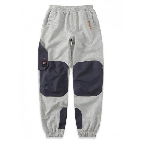 GRIS - Pantalon de travail professionnelle homme chantier manutention artisan logistique