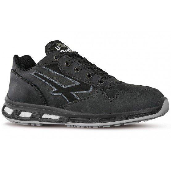 Chaussure securite S3 professionnelle travail noire cuir ISO EN 20345 S3 homme - PROMO manutention artisan logistique chantier -