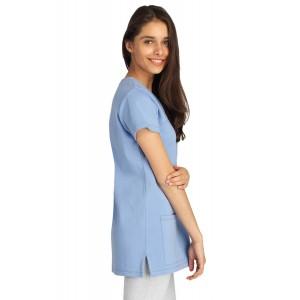Tunique professionnelle travail manches courtes femme aide domicile medical auxiliaire vie infirmier