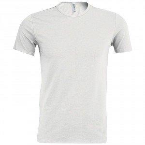 Tee-shirt professionnel travail manches courtes homme auxiliaire vie infirmier aide domicile medical - BLANC
