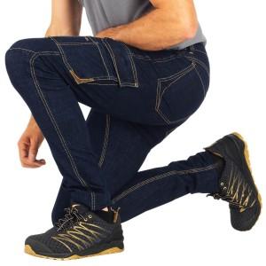 Jeans professionnel travail homme logistique chantier transport artisan