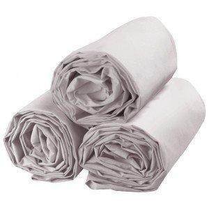 Drap housse professionnel hebergement foyer Polyester/Coton restauration serveur restaurant cuisine - PERLE