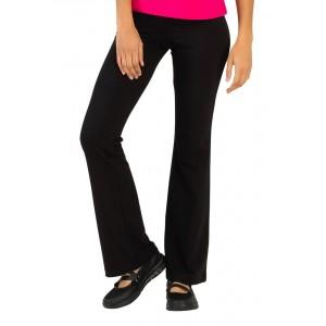 Pantalon ample Zen maille professionnel travail femme internat estheticienne ecole coiffeur - NOIR
