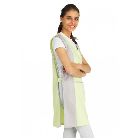 Chasuble tablier blouse professionnel femme entretien auxiliaire vie menage aide domicile - ANIS/PERLE