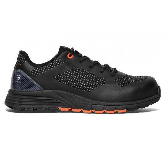 Chaussure securite S1P professionnelle travail noire ISO EN 20345 S1P homme artisan entretien chantier menage - NOIR