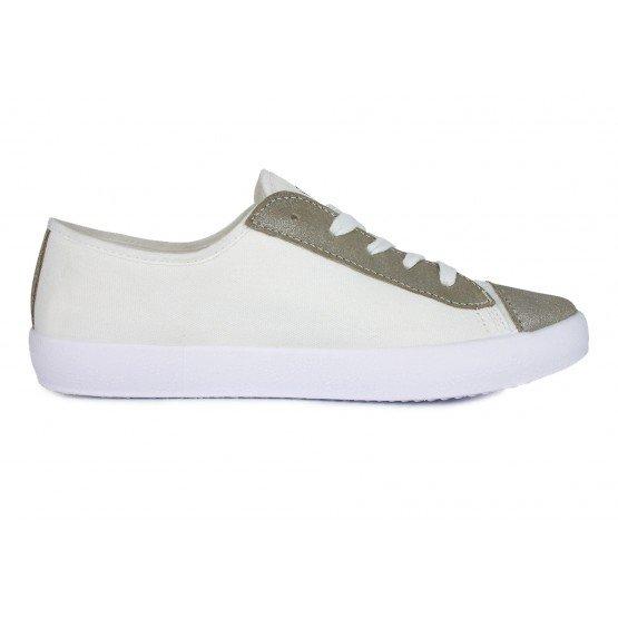 Chaussure professionnelle travail blanche cuir femme auxiliaire vie medical aide domicile infirmier - BLANC