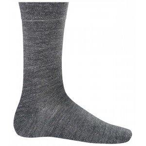 Chaussettes mi-longues chaudes professionnelle travail mixte aide domicile medical auxiliaire vie infirmier - NOIR