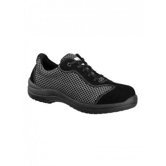 GRIS - Chaussure de sécurité S1P professionnelle de travail ISO EN 20345 S1P femme chantier entretien artisan menage