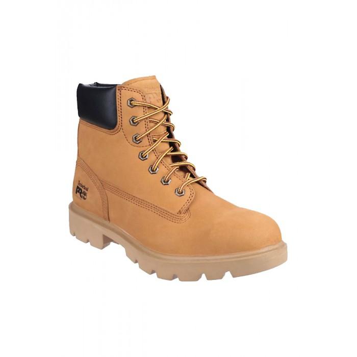 la moitié 5aaea 16a8d Chaussure haute professionnelle de travail en cuir ISO EN ...