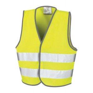 Gilet professionnel travail 100% Polyester EN 1150:1999 - JAUNE