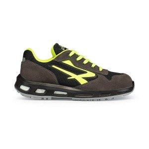 Chaussure securite S1P SRC professionnelle travail noire cuir ISO EN 20345 S1P mixte - PROMO transport chantier logistique - NOI