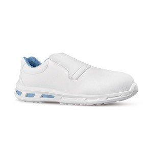 BLANC - Chaussure de cuisine de sécurité S2 SRC professionnelle de travail blanche ISO EN 20345 S2 mixte serveur restaurant cuis