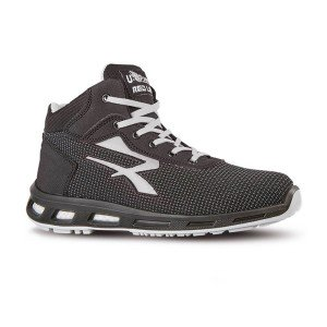 NOIR/GRIS - Chaussure de sécurité S3 SRC professionnelle de travail noire ISO EN 20345 S3 mixte logistique artisan transport cha