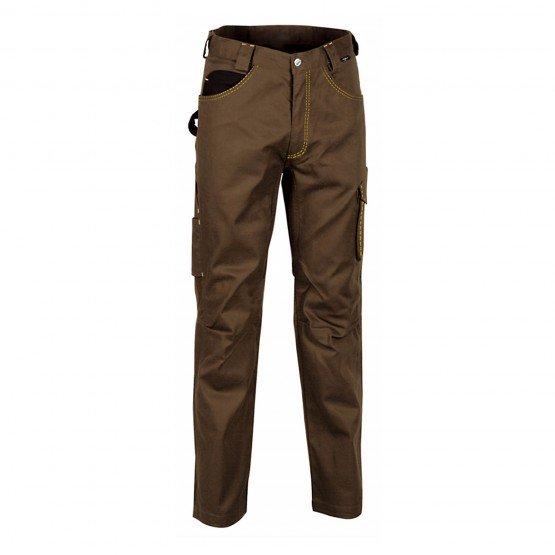 Pantalon travail professionnel homme - PROMO logistique artisan transport chantier - TAUPE