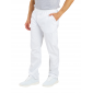 BLANC - Pantalon professionnelle de travail homme aide a domicile médical auxiliaire de vie infirmier