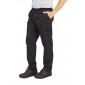NOIR - Pantalon professionnelle de travail homme aide a domicile médical auxiliaire de vie infirmier