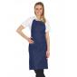 DENIM - Tablier de service de cuisine professionnel noire mixte restauration serveur cuisine hôtel