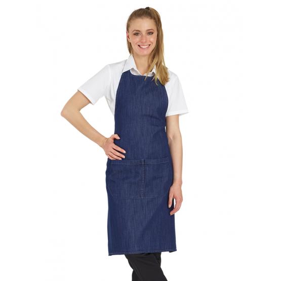 Tablier De Service Jeans De Cuisine Professionnel Restaurant