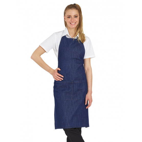 Tablier service cuisine professionnel noir restauration serveur hotel restaurant - JEAN