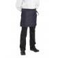Tablier service cuisine professionnel noir mixte restaurant cuisine restauration serveur - JEAN