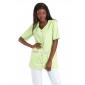 ANIS/PAPILLONS - Tunique professionnelle de travail blanche à manches courtes femme auxiliaire de vie médical aide a domicile in