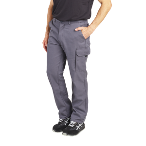 Pantalon travail professionnel homme transport artisan manutention chantier - GRIS