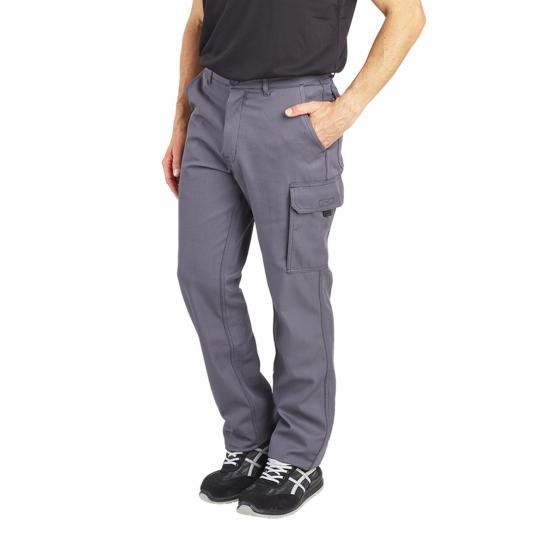 Pantalon travail professionnel homme transport artisan manutention chantier - GRIS