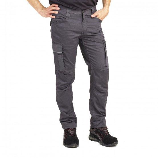 Pantalon travail professionnel homme manutention artisan logistique chantier - GRIS